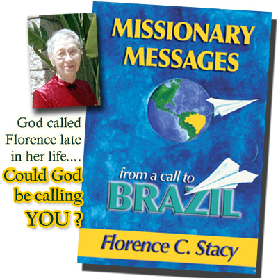 Florence Stacy with book cover