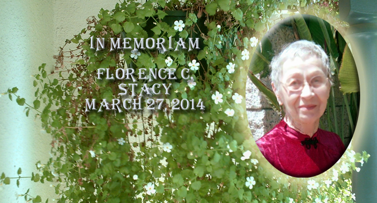 In memoriam Florence Stacy